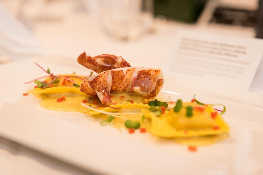 raviolis homard, restaurant Da Vinci, restaurant italien, meilleures pâtes à Montréal