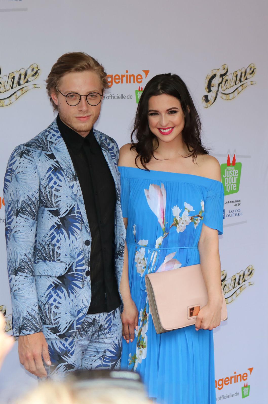 Tapis rouge - Fame- Alexander Ferland & Karine St-Michel