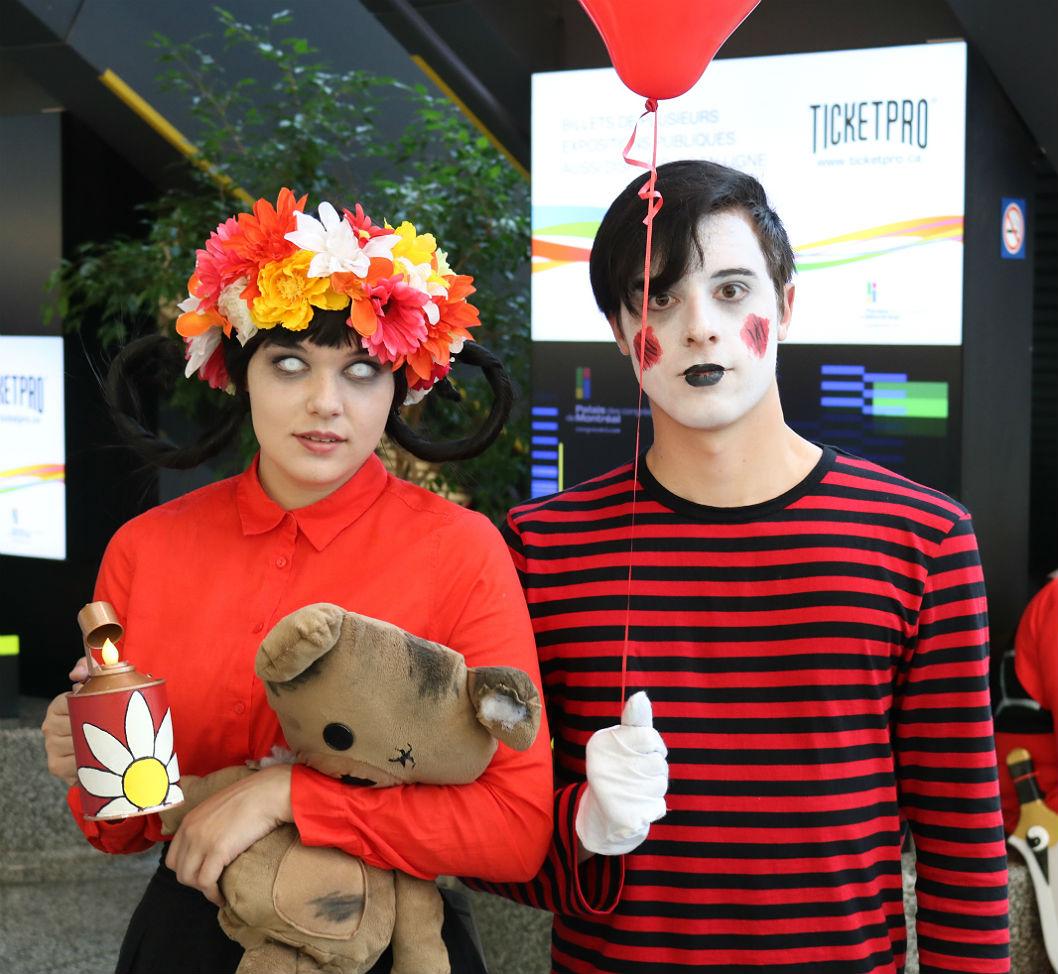 Comiccon couple (2)