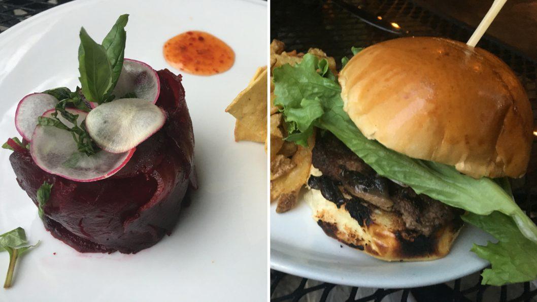 La P'tite Grenouille tartare burger betteraves festival du mojito