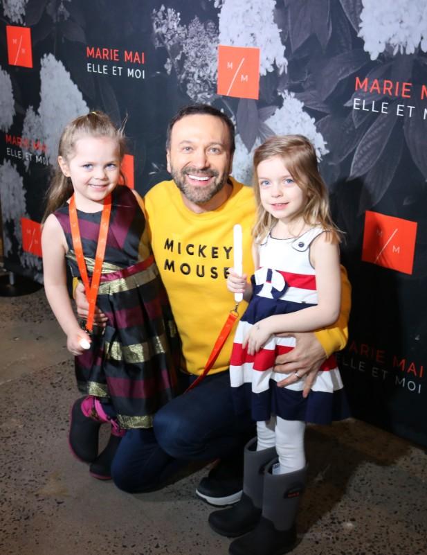 Joel Legendre Marie-Mai photo tapis rouge