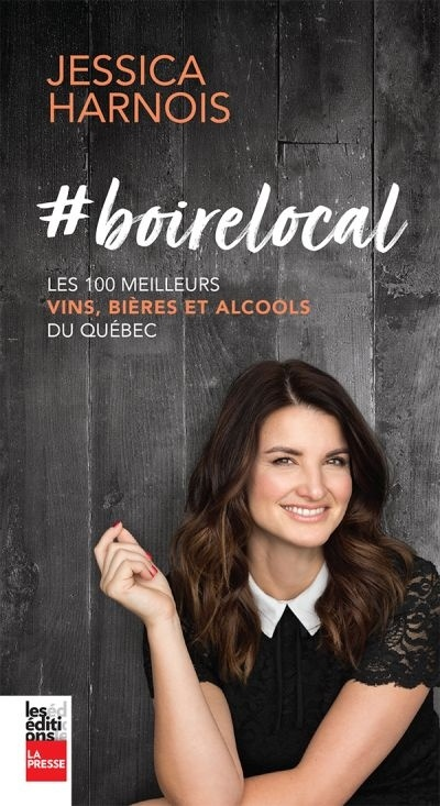 photo de la couverture de #boirelocal de Jessica Harnois