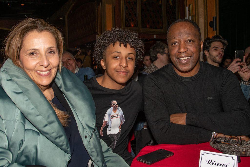 Herby Moreau, Julien et Sarah Canta.