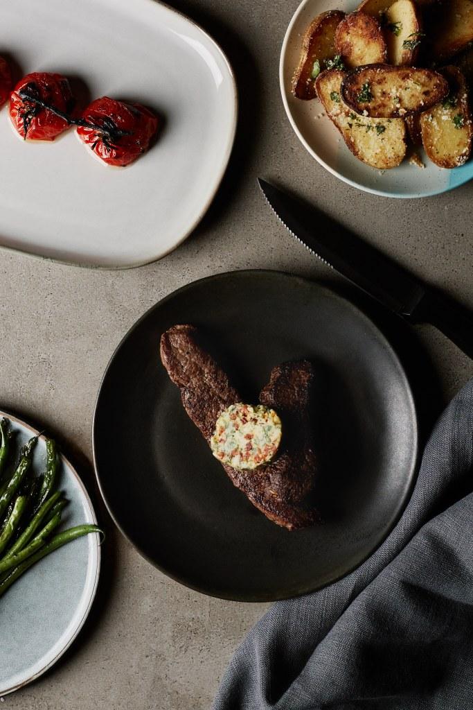 Just Meat It Surlonge de bison beurre composé style maître d'hôtel