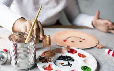 Activité : peinture avec bébé