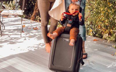 Le Bagrider, la solution pour voyager avec bébé