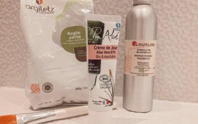 Ma routine anti acné