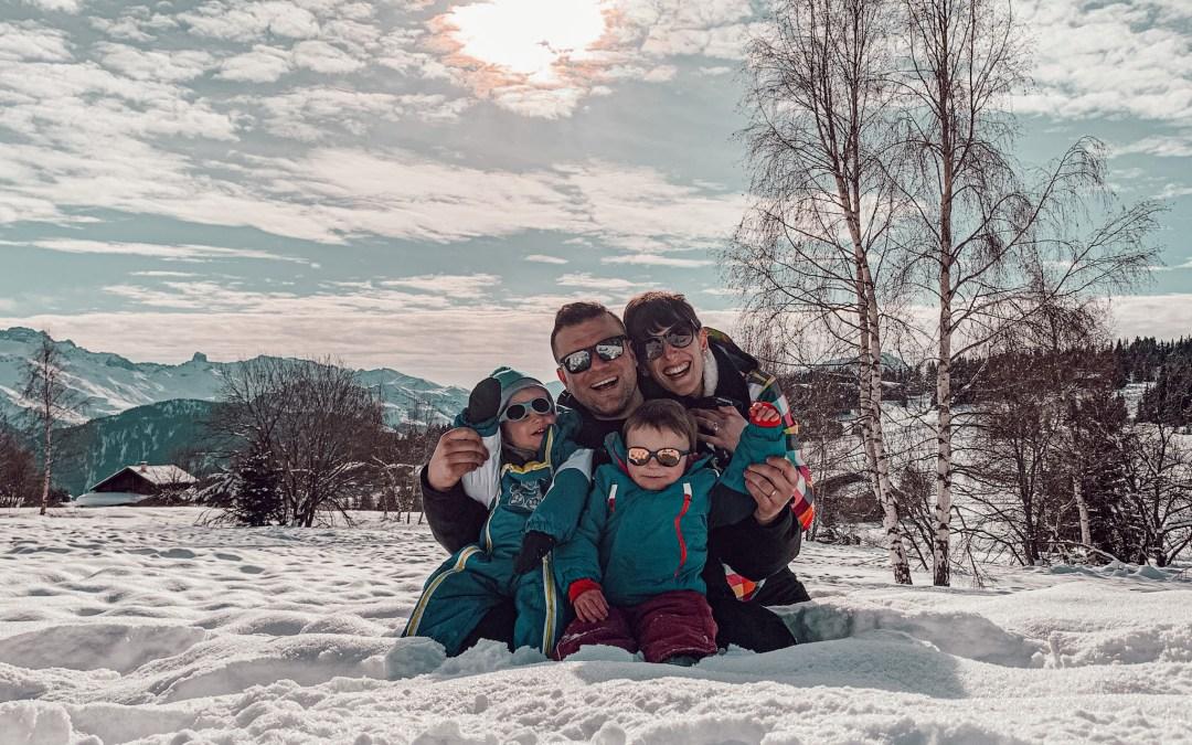 Le ski avec des enfants en bas âge. Notre séjour aux Saisies.