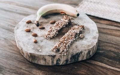 Recette : barres de céréales maison