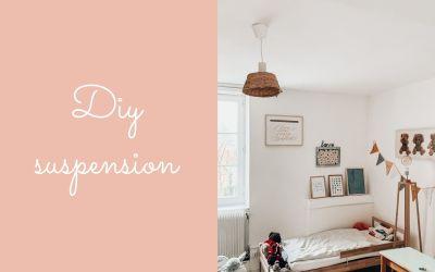 DIY suspension panier