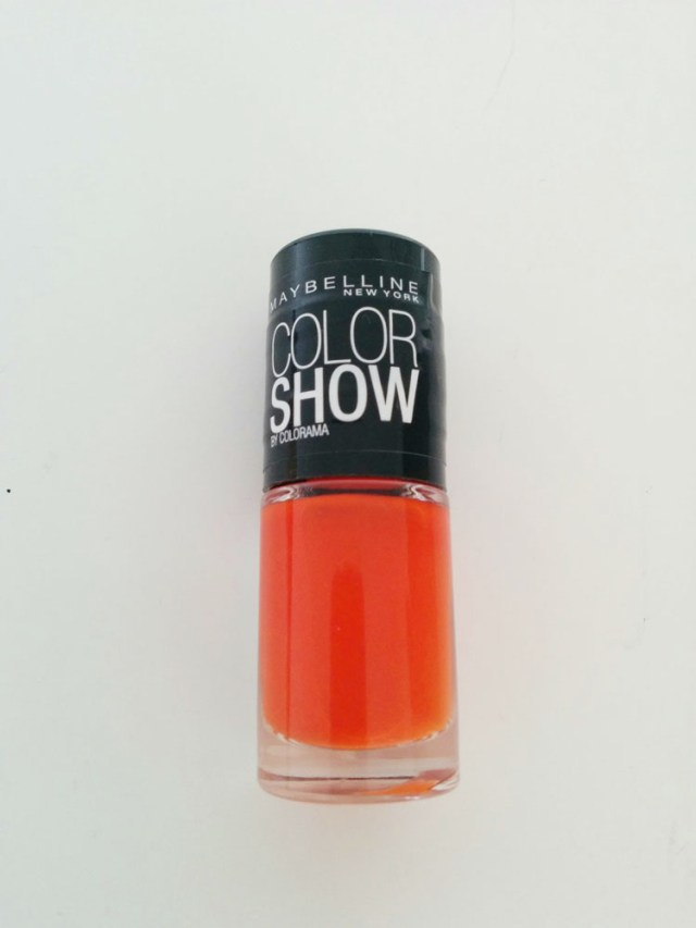 Gemey Maybelline Color Show - Orange Attack