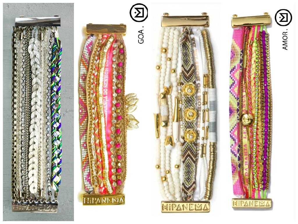 DIY : Mon bracelet façon Hipanema