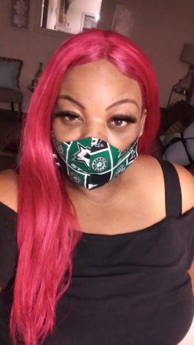 Dallas Stars Face Mask