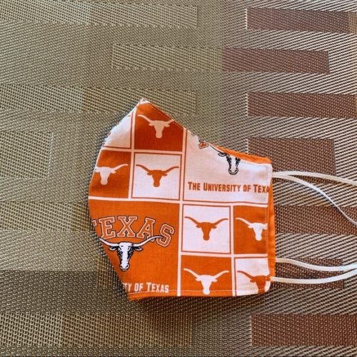 Texas Longhorns Face Mask