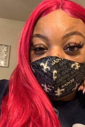 New Orleans Saints Adult Face Mask
