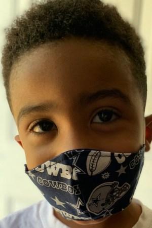 Dallas Cowboys Toddler Kids Face Mask