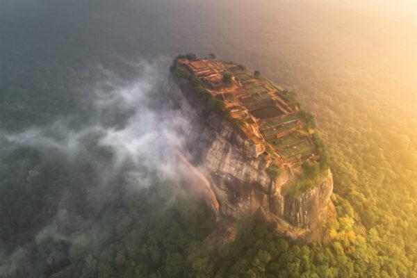 Sigiriya, Sri Lanka, during Golden Hour