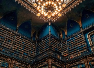 Cabinet of Reading in Rio De Janeiro, Brazil