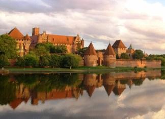 malbork castle in poland
