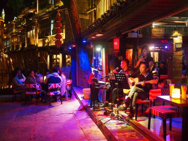 chinese street karaoke bar