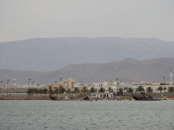panoramic seaside view of nizwa oman