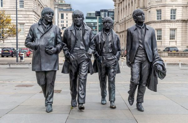 Liverpool Beatles statue.