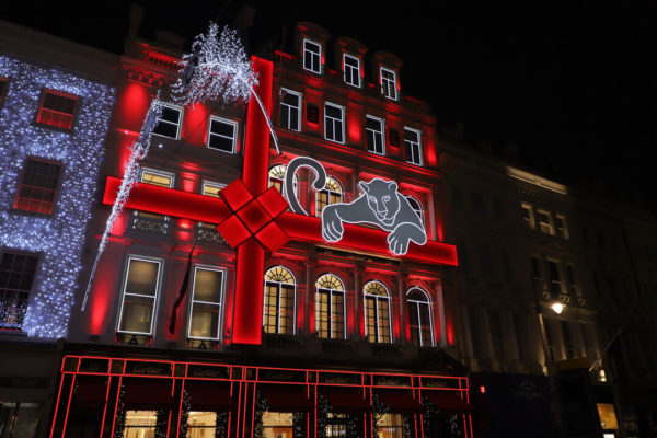 Cartier London's Christmas lights