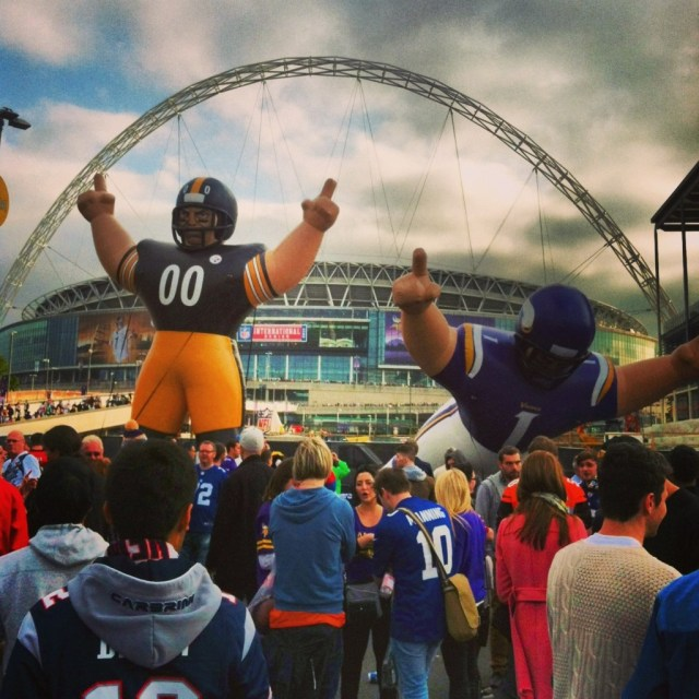 NFL at Wembley Stadium