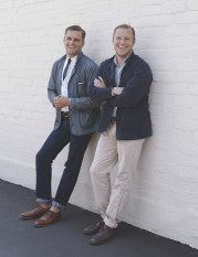 Shea and Raan, founders of Apolis