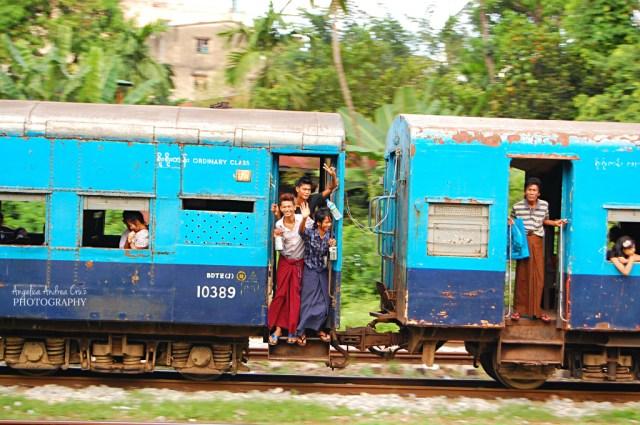 City Train in Yangon