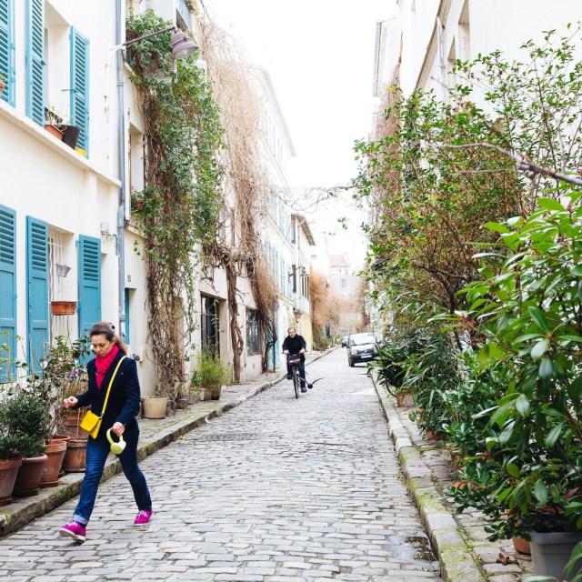 Rue Thermoplyes in hidden Paris neighborhood