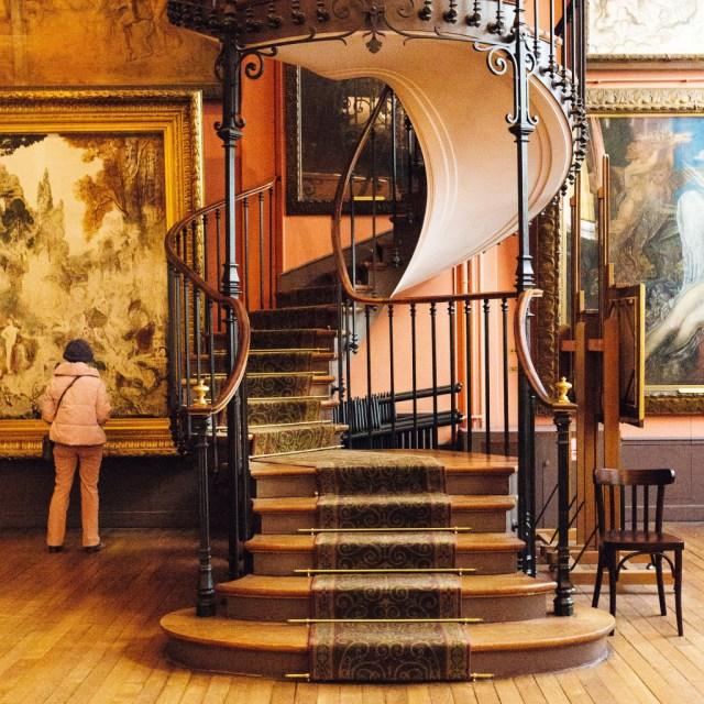 Spiral Staircase in hidden Paris museum