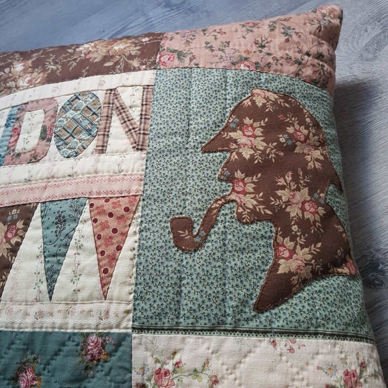 coussin passion patchwork