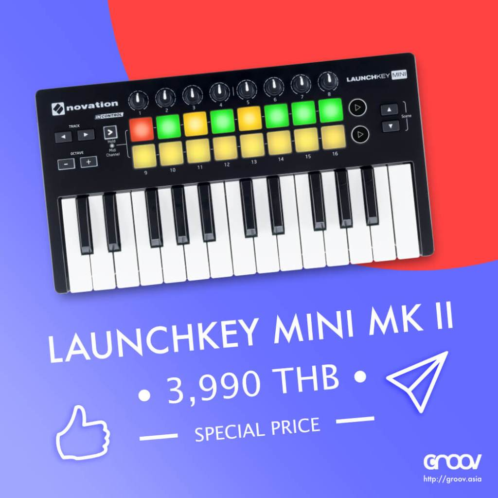 Novation Launchkey Mini MK II #BuyFromGROOV