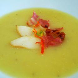 Potato pear soup