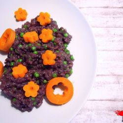 Purple rice 1