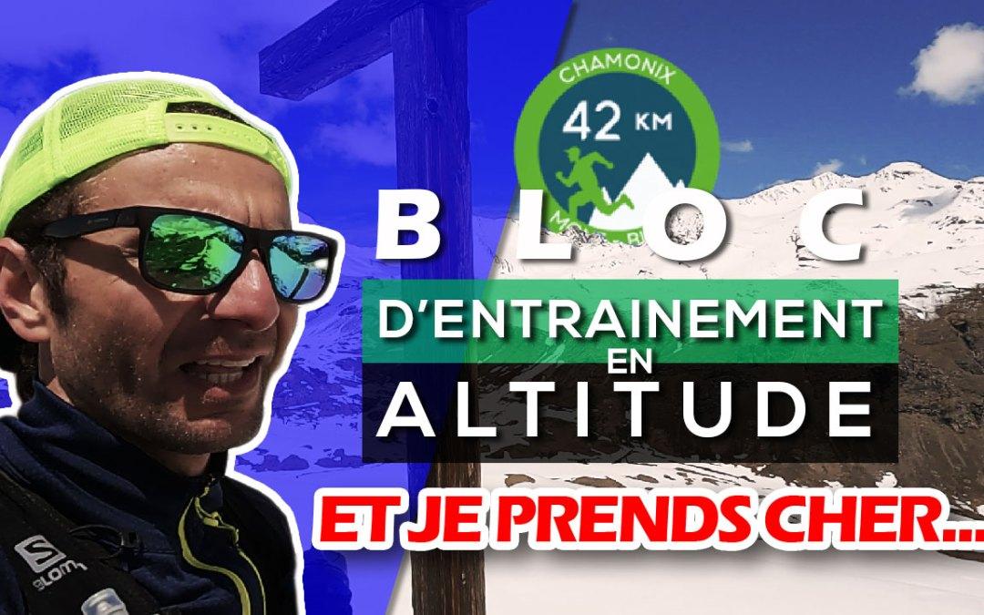 SEMAINE TYPE PRÉPARATION MARATHON DU MONT BLANC #02: BLOC D'ENTRAINEMENT TRAIL EN ALTITUDE