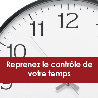 Reprenez le contrôle de votre temps