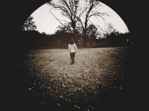 walk away woman