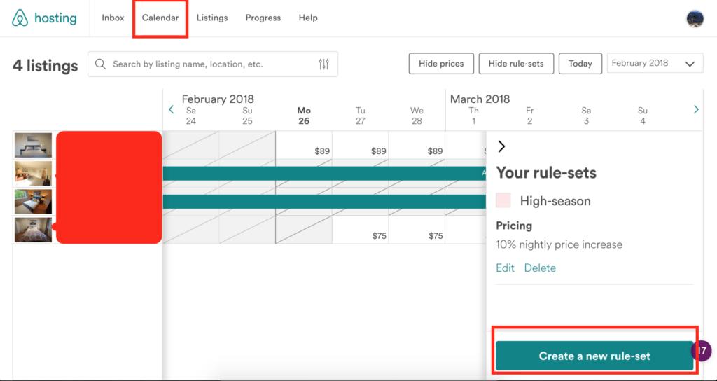 airbnb revenue