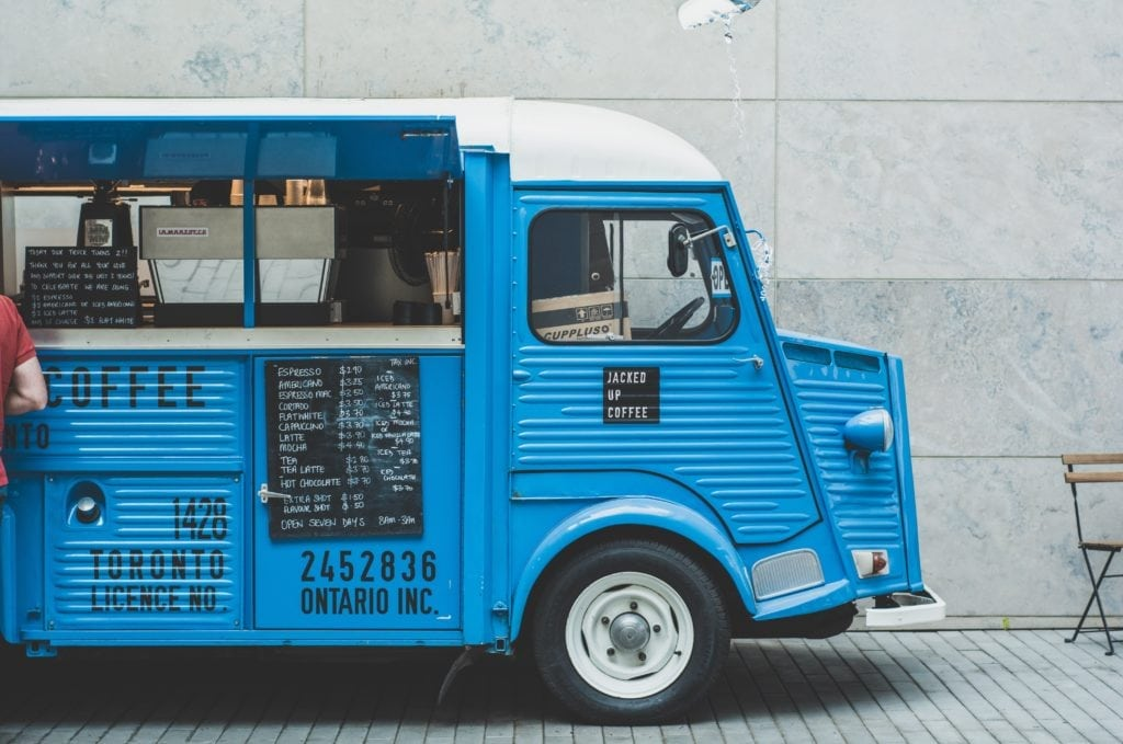 2020 business ideas - wedding food truck