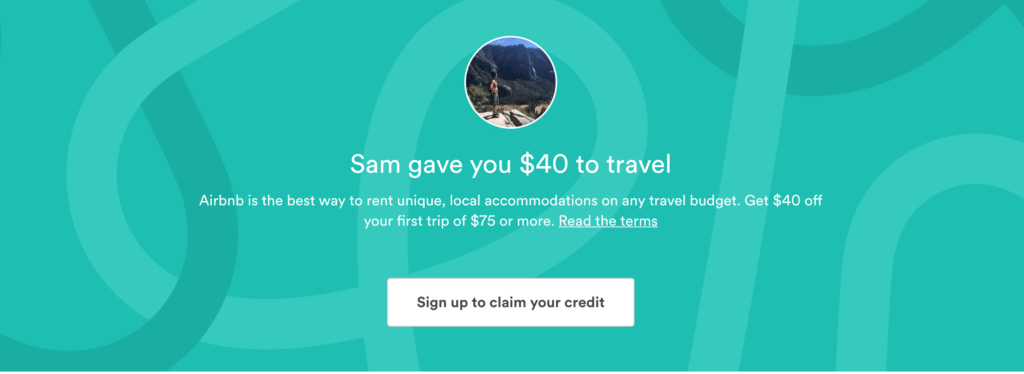 airbnb first time coupon