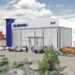 Cold Climate Passive Auto Dealership