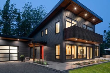passive canmore modern luxury living east canada location