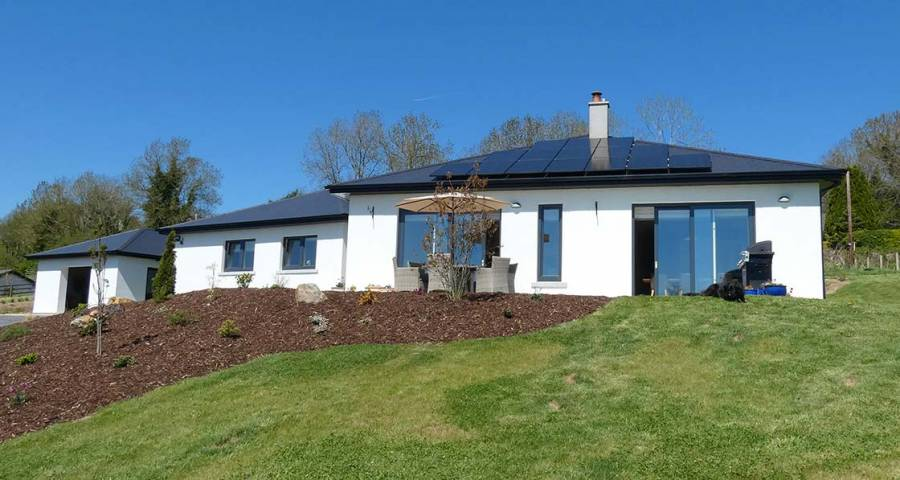 Passive Wexford Bungalow With A Hint Of The Exotic