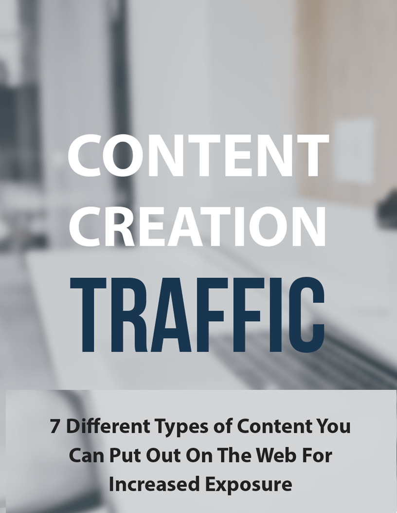 7 Different Types Of Content You Can Put Out On The Web For Increased Web Exposure