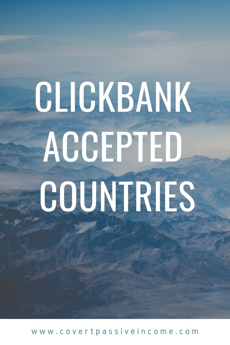 Clickbank Accepted Countries