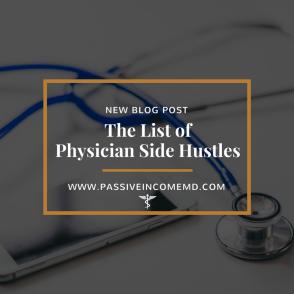 physician side hustles