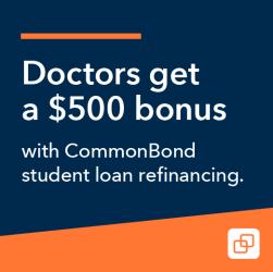 doctor student loan refinancing