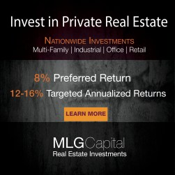 MLG capital invest in private real estate
